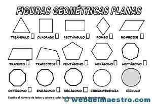 figuras geometricas cuadrilateros figuras y cuerpos geom 233 tricos with images 183 marcela08