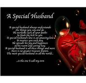 Personalised A Special Husband Poem Valentines Birthday