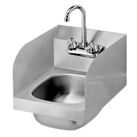wall mount hand sink krowne hs 30l wall mount commercial hand sink w 9 75 quot l x