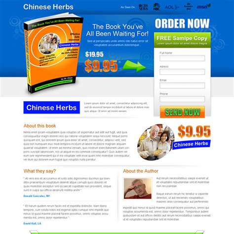 ebook landing page template e book landing page design templates to increase sales of