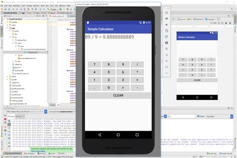 delphi calculator tutorial android simple calculator free source code tutorials