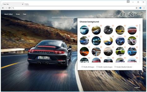 themes for new tab in chrome porsche wallpaper hd cars new tab themes chrome web store