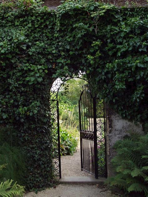 Through The Garden by Bridgetothestars Net Oxford Botanic Garden Gate