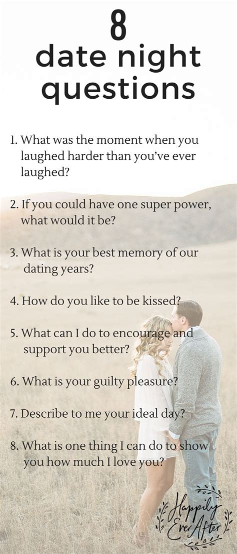 Asked Him For A Date by Here Are 8 Questions To Ask Each Other On Your Next Date