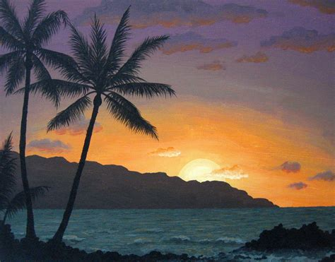 hawaii landscape hawaii landscape by yarnuh on deviantart