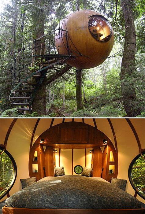 hanging tree house designs 20 awesome treehouse with childhood dreams home design and interior