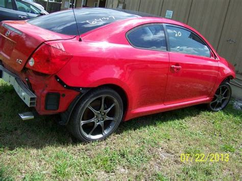 tc scion auto parts purchase used 2005 scion tc base coupe 2 door 2 4l parts car in sanford florida united states
