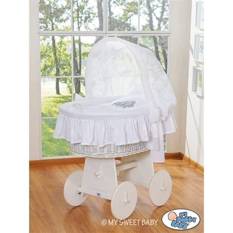 wicker crib cradle moses basket white wicker cribs