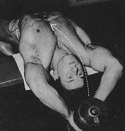 steve reeves bench press dumbbell pullovers the forgotten upper chest exercise