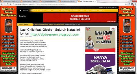 membuat rancangan iklan cara pasang iklan melayang di kiri dan kanan blog