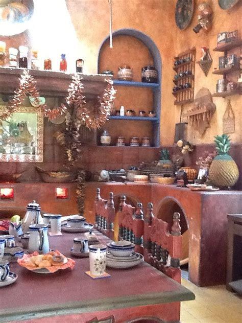 la tipica cocina mexicana casa estilo mexicano