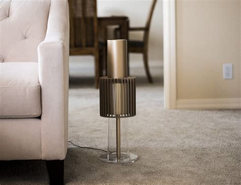 Purified Air Is Stylish The Ionflow Is More Stylish by Lightair Signature Ionflow 50 Gold Air Purifier 187 Gadget Flow