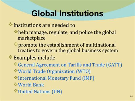 world bank definition of governance chapter 1 international business