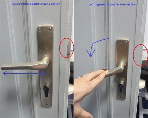 comment ouvrir une porte de chambre bloqu馥 p 234 ne le secret de la poign 233 e