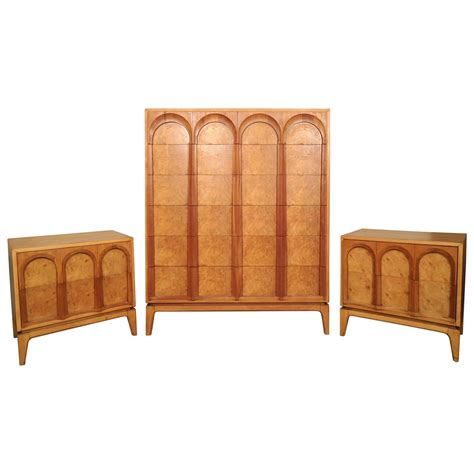 mid century bedroom set mid century bedroom set by thomasville for sale at 1stdibs