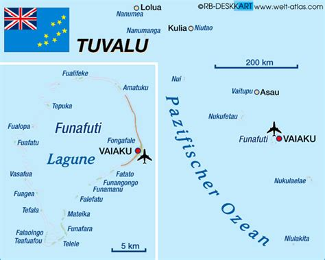 tuvalu on world map map of tuvalu map in the atlas of the world world atlas