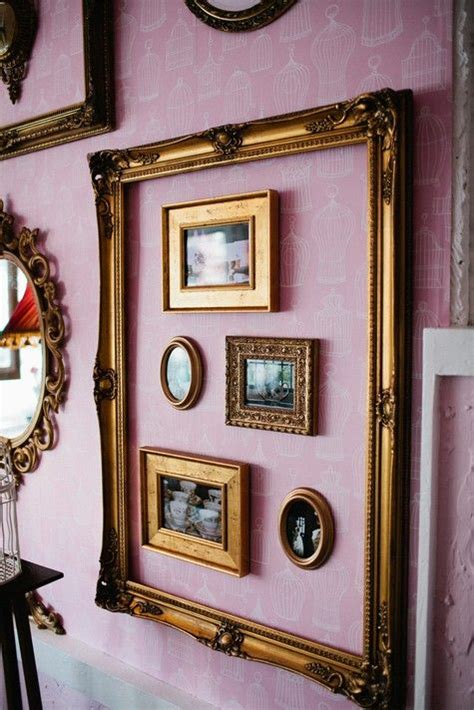 Picture Frame Decor by Best 25 Frame Wall Decor Ideas On Hanging