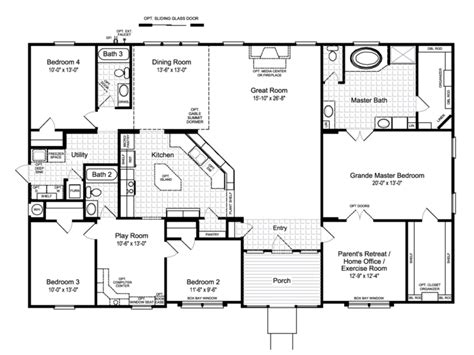 hacienda home plans hacienda homes floor plans mibhouse com