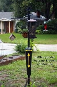 best squirrel proof bird feeder pole system baffle