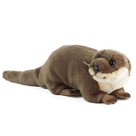 large toys large otter plush soft rspb toys rspb shop