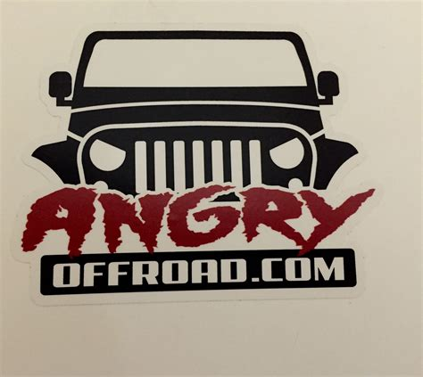 Sticker Road 4x4 Free Ongkir 2pcs jeep road bumper stickers and decals autos post