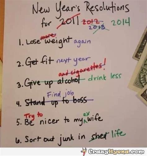 new year list of years new year resolution list corrected picture