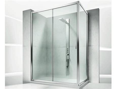 box doccia cristallo su misura box doccia angolare su misura in cristallo con porte