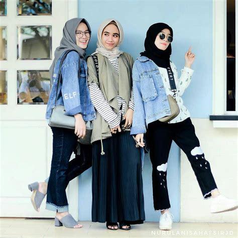 Fashion Muslimah Terkini 17 trend baju remaja 2018 masa kini casual simple modern