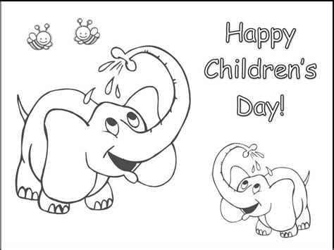 coloring pages for s day children s day coloring part 6