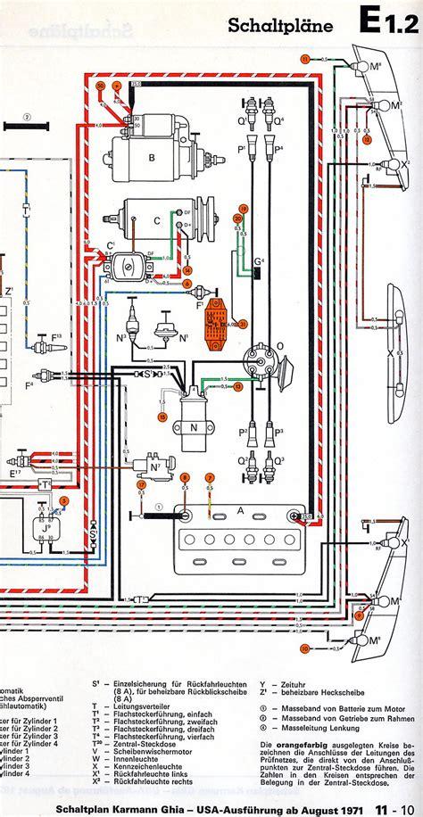 1967 vw karmann ghia wiring diagram wiring diagram manual
