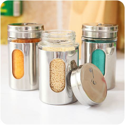 Decorative Spice Jars Decorative Glass Jars With Lids Promotion Shop For