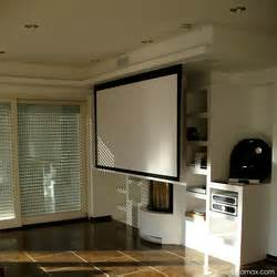 in ceiling projector screen beamax in ceiling projection screen balances high end