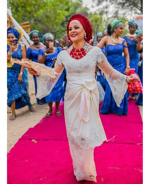 Homestyles beautiful igbo princess rock in red strapless dress and