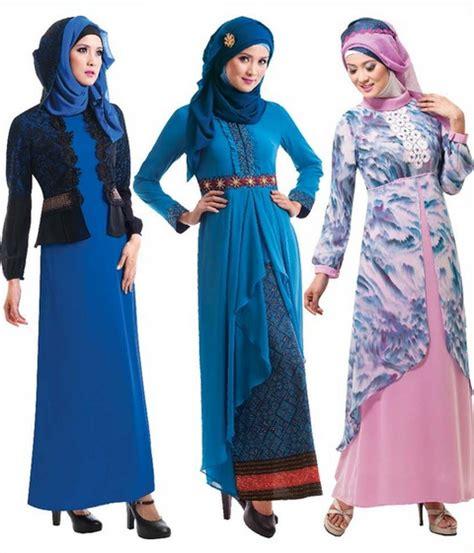 baju muslim busana gamis trend model gamis 2015 trend terbaru baju gamis remaja fashion style 2015 trend