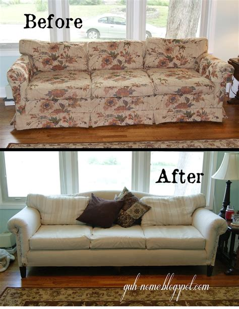 slipcover or reupholster 17 best ideas about recover couch on pinterest