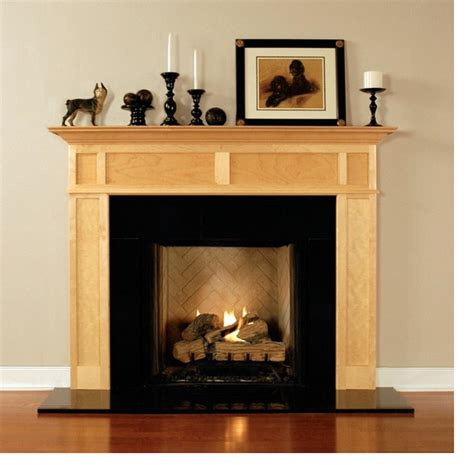 Wood Fireplace Mantel Surrounds Americana Collection Wood Fireplace Surround