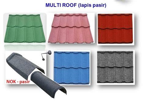 Atap Metal Multiroof multiroof genteng pasir