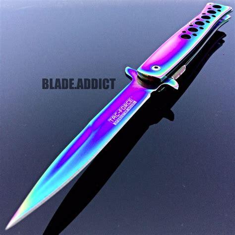 x gear pocket knife 9 quot tac titanium stiletto tactical