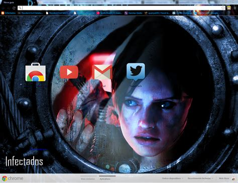 theme google chrome resident evil resident evil revelations unveiled edition theme by