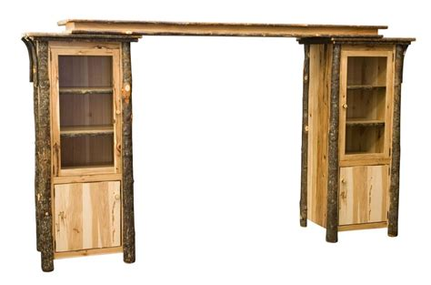 Entryway Home Decor Amish Rustic Entertainment Center Wall Unit