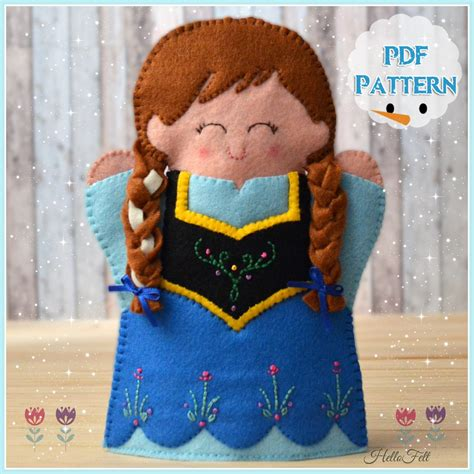 Anny Instan pdf pattern and frozen puppet