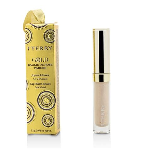 by terry rose lip balm by terry baume de rose parure lip balm jewel fresh