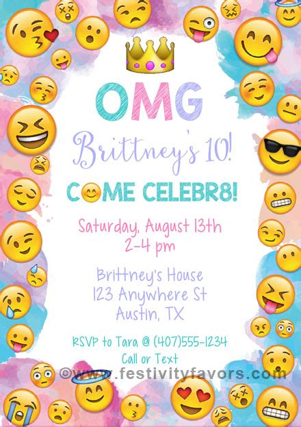 emoji birthday card template emoji birthday invitations birthday