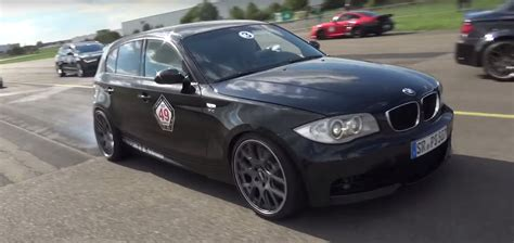 bmw 1 series sleeper with m5 v10 engine sounds heavenly