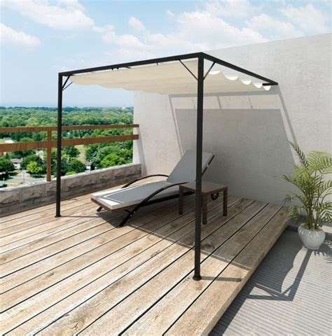 Pavillon 4x3 Meter by Retractable Pergola Cover Diy Pergola Gazebo Ideas