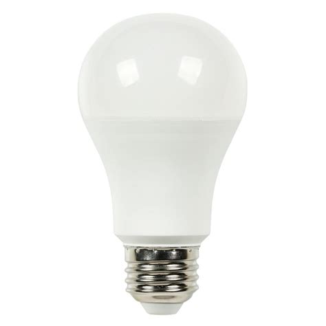 Led Light Bulb 100 Watt Equivalent Westinghouse 100w Equivalent Daylight A19 Led Light Bulb 0514200 The Home Depot