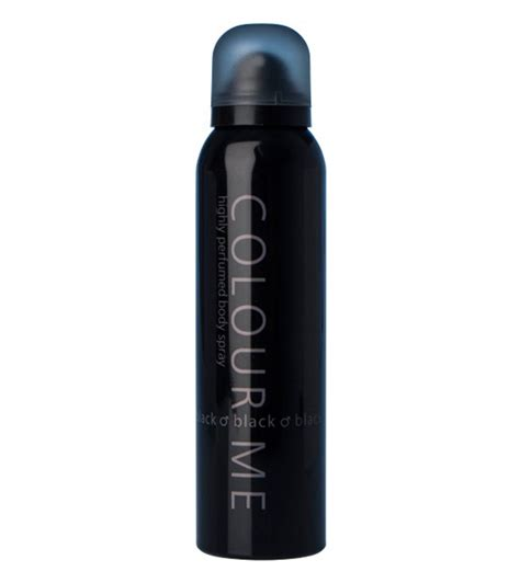 Spray Rambut Formal Color Spray Black 150ml colour me black spray 150ml for colour bs 003