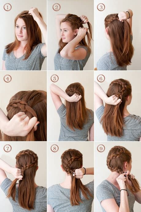 french crown braid 3 new ways to add bobby pins to your ways to fix your hair in braids ways to fix your hair in