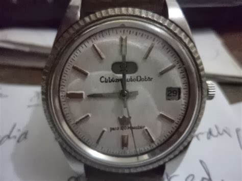 Jam Jadul Kq5 Citizen 7 Automatic jam or bekas kuno jadul antik vintage citizen