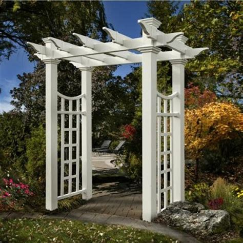 Vinyl Garden Arbor Kits Vinyl Garden Arbor Kits Delivered Throughout Canada And Usa